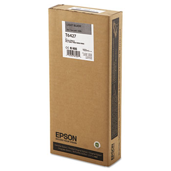 Epson T642, 150 ml Light Black UltraChrome HDR Ink Cartridge