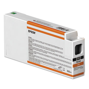 Epson 824 UltraChrome HD Ink (350 mL) Orange Ink Cartridge