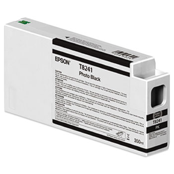 Epson 824 UltraChrome HD Ink (350 mL) Photo Black Ink Cartridge