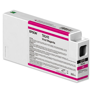 Epson 824 UltraChrome HD Ink (350 mL) Vivid Magenta Ink Cartridge