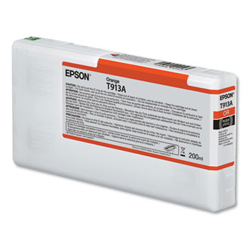 Epson 913, Orange Ink Cartridge for Epson P5000 - 200ml