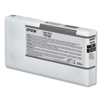 Epson 913, Matte Black Ink Cartridge for Epson P5000 - 200ml