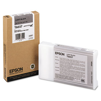 Epson UltraChrome K3 Ink, Light Black 220ml