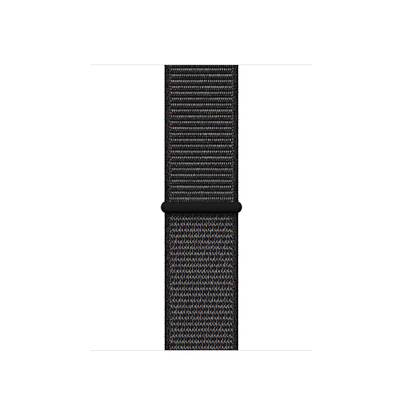 40mm Black Sport Loop