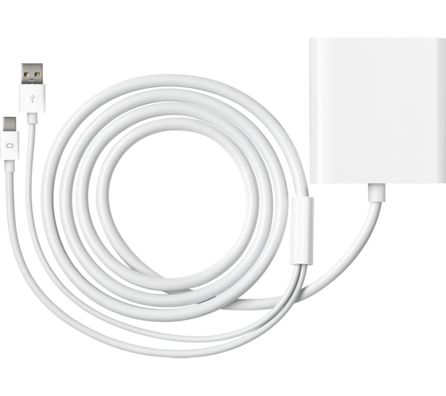 Mini DisplayPort to Dual-Link DVI Adapter