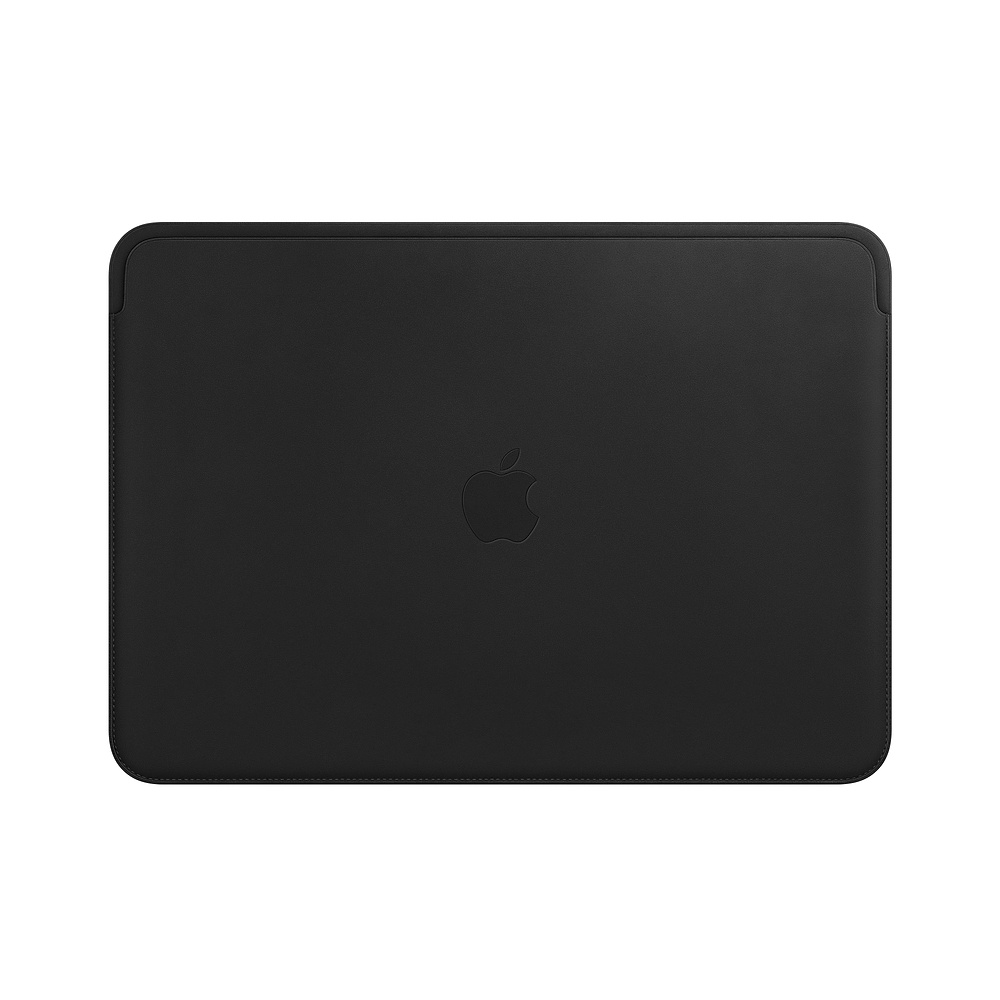 Leather Sleeve for 15-inch MacBook Pro – Black
