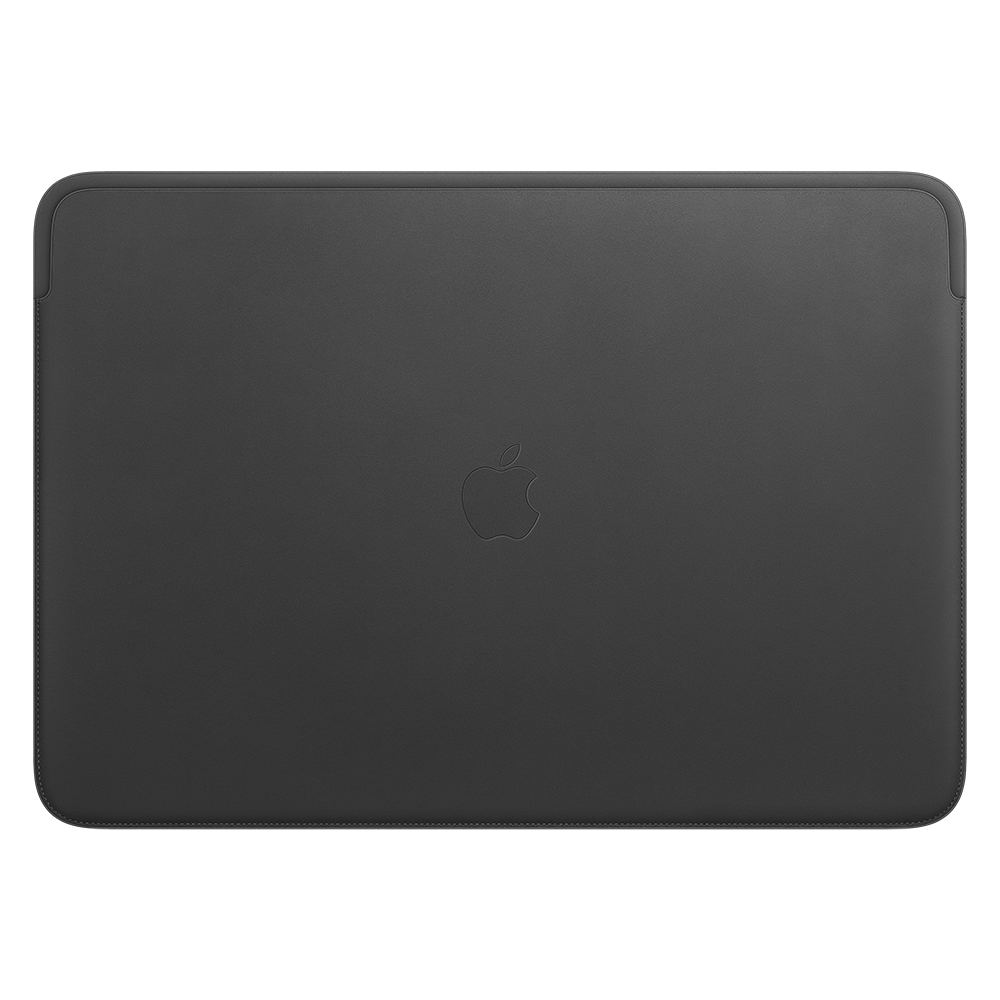Leather Sleeve for 16-inch MacBook Pro - Black