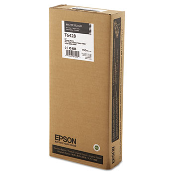 Epson T642, 150 ml Matte Black UltraChrome HDR Ink Cartridge