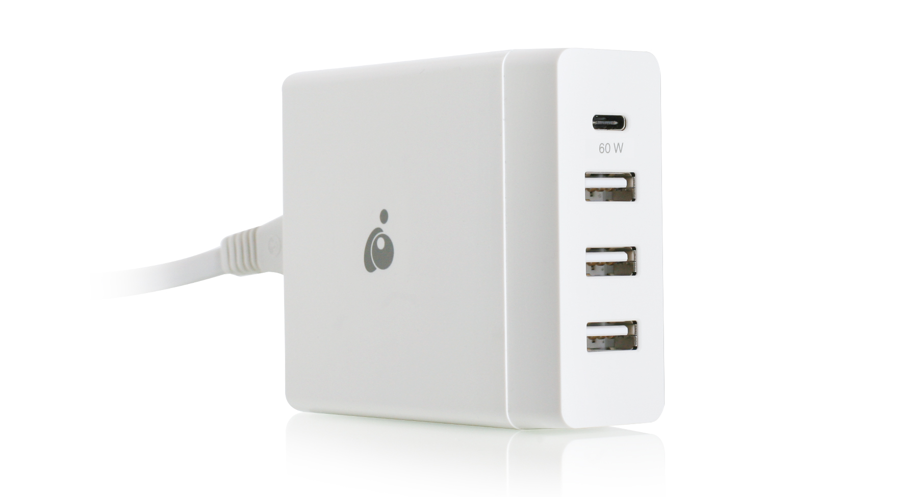 IOGear USB-C 72W 4-Port Charger [USB-IF]