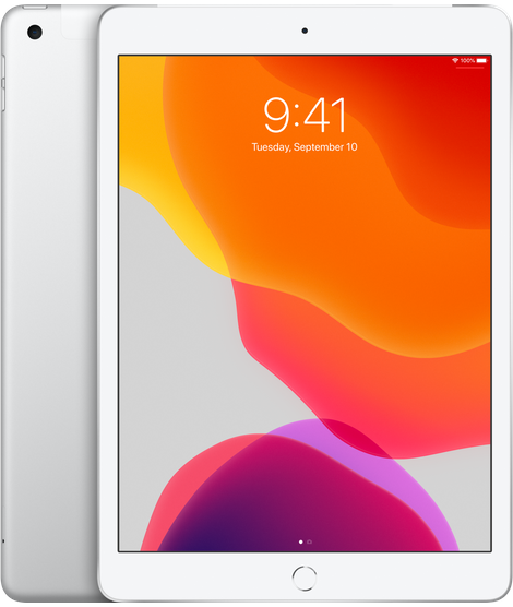 10.2-inch iPad Wi-Fi + Cellular 32GB - Silver