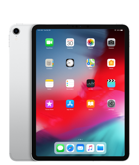 11-inch iPad Pro Wi-Fi + Cellular 256GB - Silver