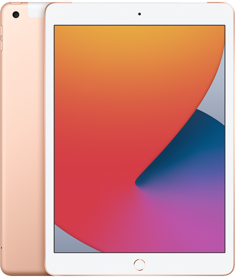 10.2-inch iPad Wi-Fi + Cellular 128GB - Gold