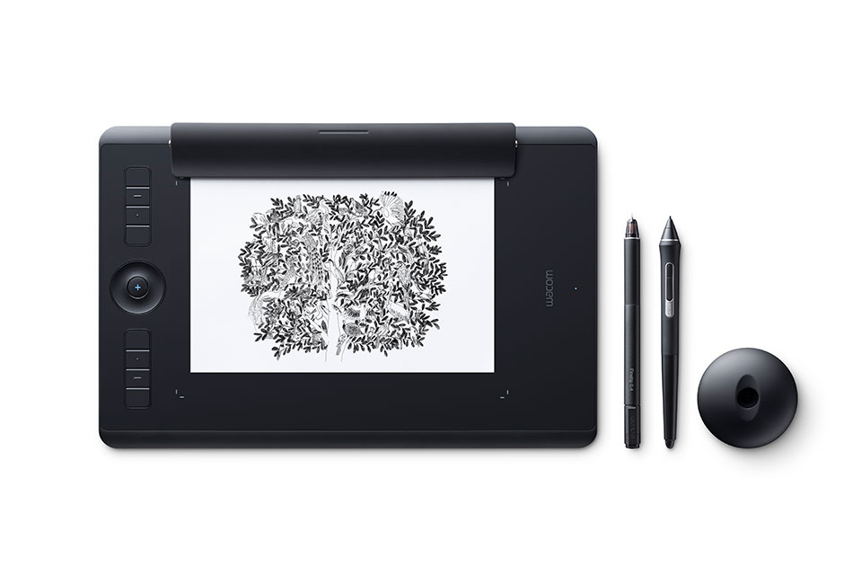 Wacom Intuos Pro Paper Edition Creative Pen Tablet (Medium)