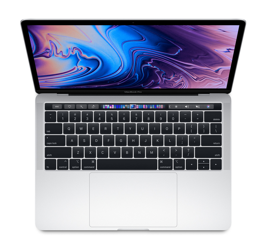 MacBook Pro 13-inch with Touch Bar - Silver