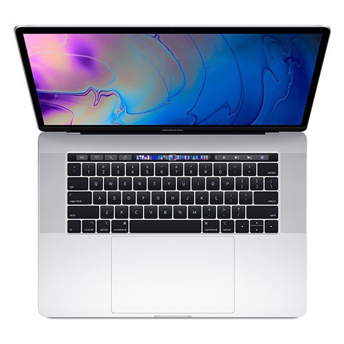 MacBook Pro 15-inch with Touch Bar - Silver