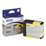 Epson T580, 80 ml Yellow UltraChrome K3 Ink Cartridge