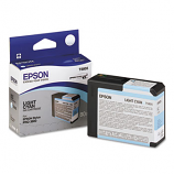 Epson T580, 80 ml Light Cyan UltraChrome K3 Ink Cartridge