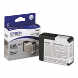 Epson T580, 80 ml Light Light Black UltraChrome K3 Ink Cartridge