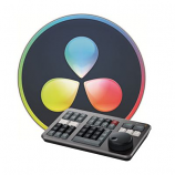 Blackmagic Design DaVinci Resolve Studio (License Key Only) with FREE Davinci Resolve Speed Editor Keyboard
