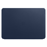 Leather Sleeve for 16-inch MacBook Pro - Midnight Blue