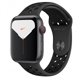 Apple Watch Nike Series 5 GPS + Cellular, 44mm Space Gray Aluminium Case with Anthracite/Black Nike Sport Band - S/M & M/L