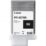 Canon PFI-007BK Black Ink Tank (90mL)