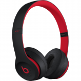 Beats by Dr. Dre Beats Solo3 Wireless On-Ear Headphones (Defiant Black/Red / Decade Collection)