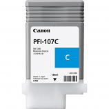 Canon PFI-107C Cyan Ink Cartridge (130 ml)
